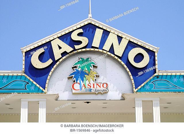 Gambling casino, Iquique, Norte Grande, northern Chile, Chile, South America