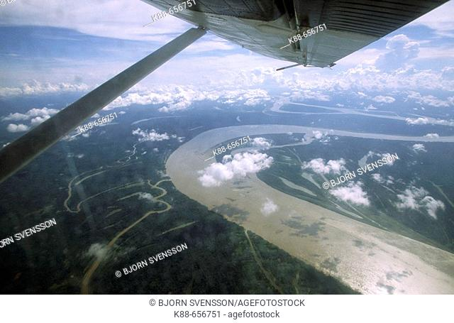 Amazon river. Near Tamishiyaco, Loreto, Peru