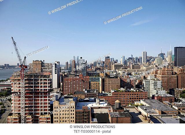 Remote cityscape