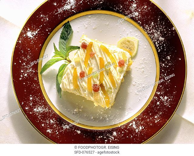 A piece of zuppa inglese