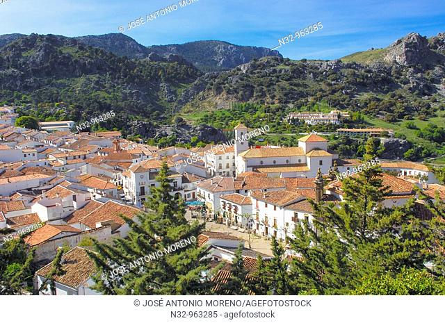 Grazalema, White Towns of Andalusia, Sierra de Grazalema Natural Park. Cadiz province, Andalusia, Spain