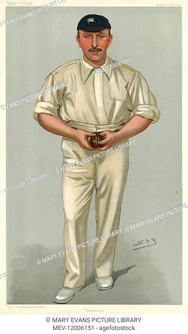George Hirst, Yorkshire cricketer (1871-1954)