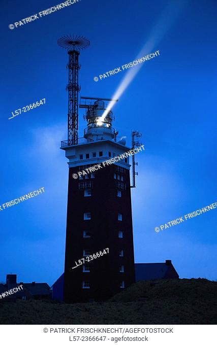 Lighthouse on Helgoland, Germany