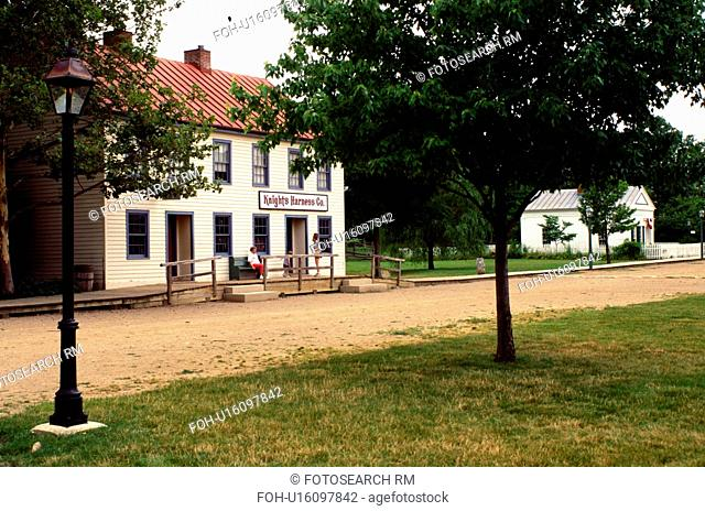 Columbus, OH, Ohio, Ohio Village, a 19th Century Village. Ohio Historical Society