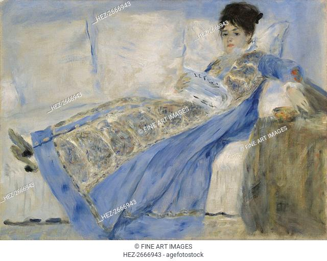 Portrait of Madame Monet, ca 1872