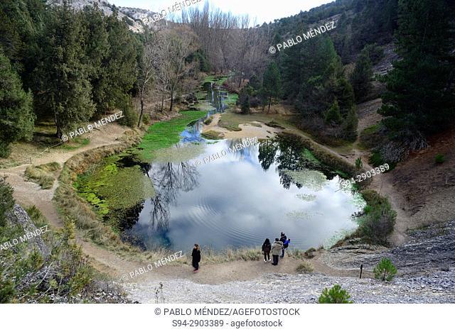 Nature monument of La Fuentona, Muriel de la Fuente, Soria, Spain