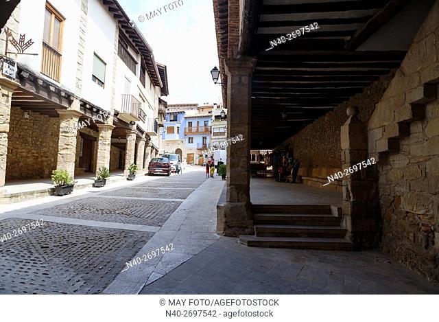 Ráfales, Teruel, Spain