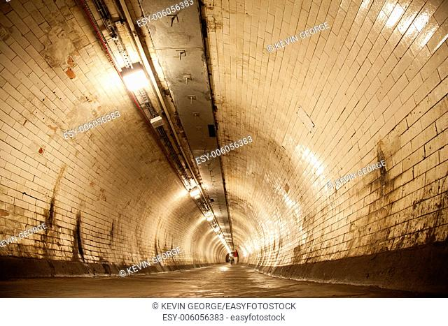 Greenwich Thames Tunnel, London, England, UK