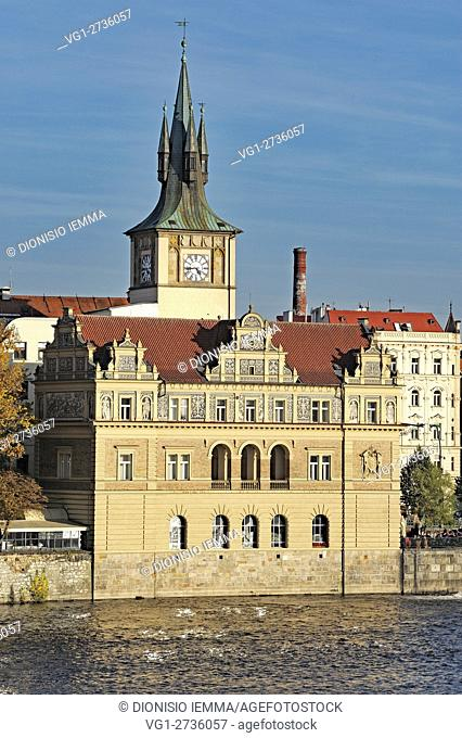 Bedrich Smetana Museum, Prague, Czech Republic, Bohemia, Central Bohemia Region, Europe