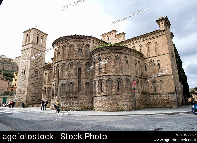 Toledo, Iglesia de Santiago el Mayor or Santiago del Arrabal, moorish style, 13th century. Toledo province, Castilla-La Mancha, Spain