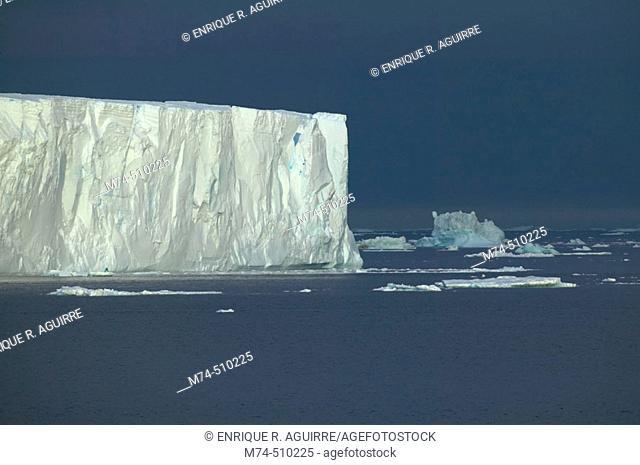 Iceberg.  Antarctica