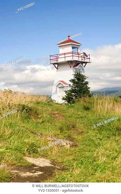 Path to Woody Point Lighthouse, Woody Point Newfouondland Canada