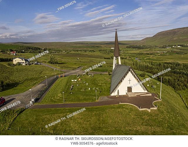 Lagafellskirkja Church, Mosfellsbaer, Iceland