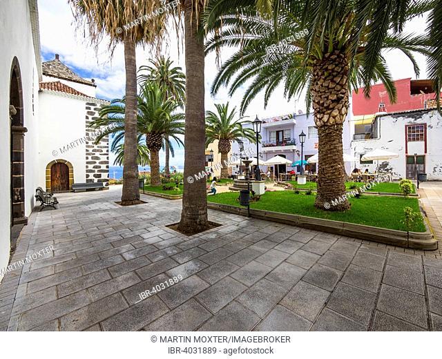 Church Square, San Andrés, La Palma, Canary Islands, Spain