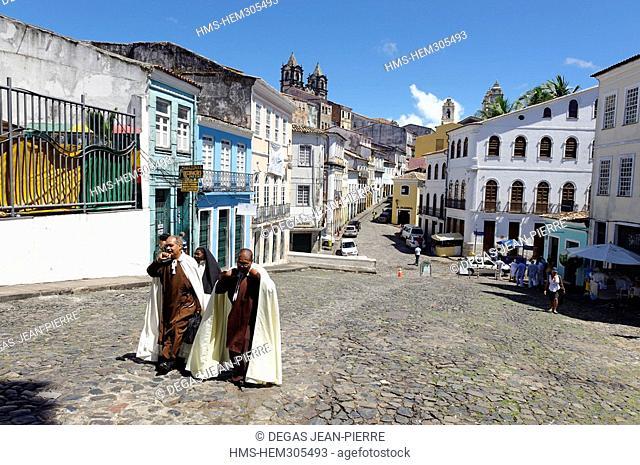 Brazil, Bahia State, Salvador de Bahia, historical center listed as World Heritage by UNESCO, Pelourinho District, historical heart of the city