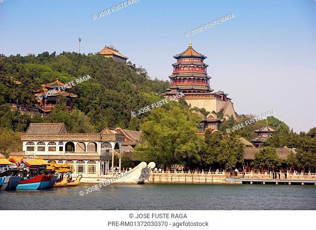 Summer Palace, Beijing, China, Asia