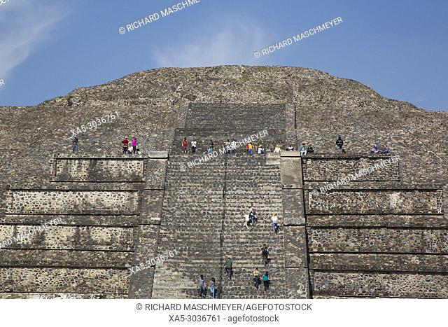 Pyramid of the Moon, Teotihuacan Archaeological Zone, State of Mexico, Mexico