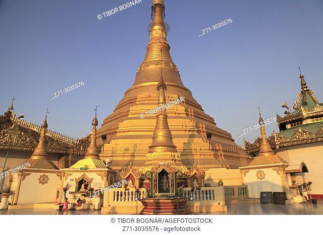 Myanmar, Mon State, Mawlamyine, U Zina Pagoda,