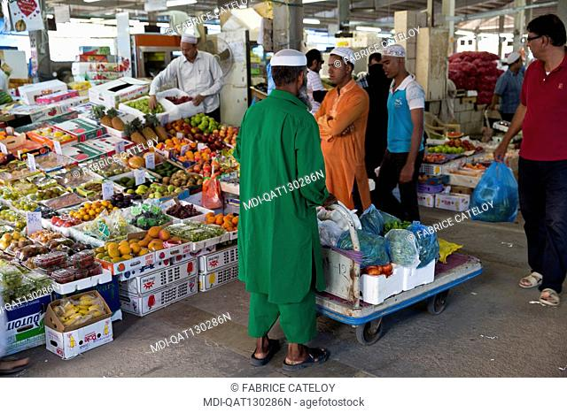 Qatar - Doha - Wholesale market - The vegetables and fruit market
