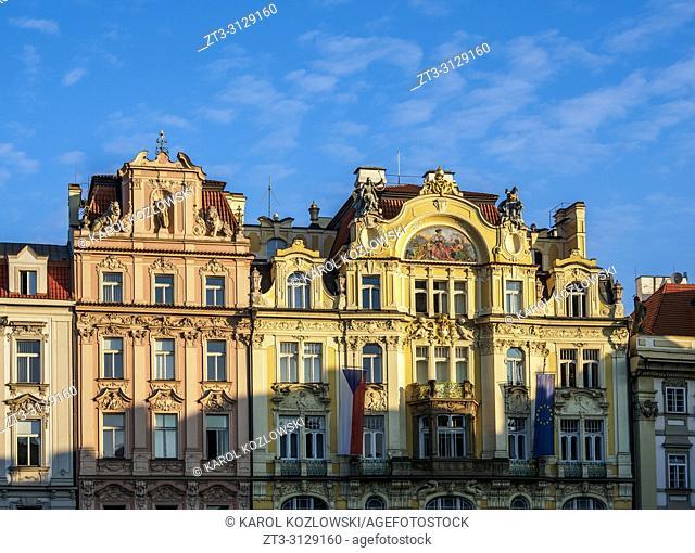Old Town Square, Prague, Bohemia Region, Czech Republic