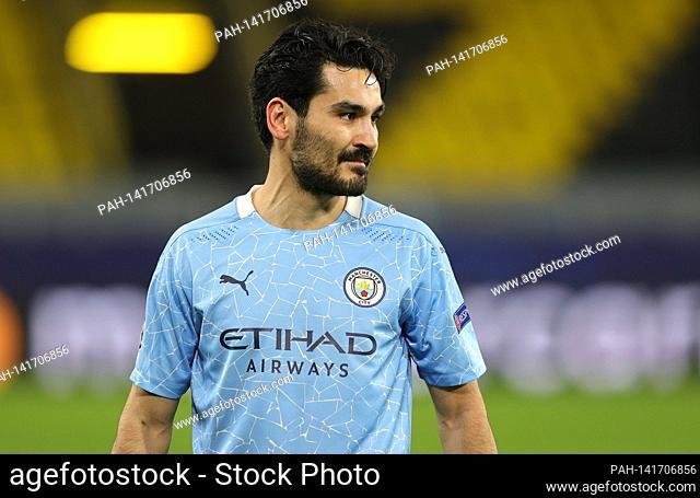 firo: 14.04.2021, football, UEFA Champions League, CL, CHL, season 2020/2021, quarter-finals, return game, BVB, Borussia Dortmund - Manchester City 1: 2 Ilkay...