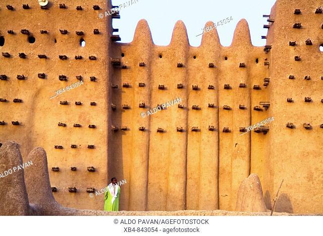 Mali, Djenné, mosque