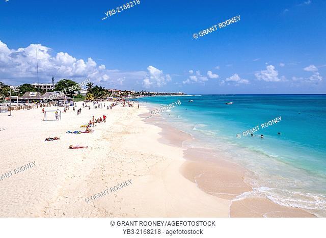 Playa Del Carmen Beach, Mayan Riviera, Mexico