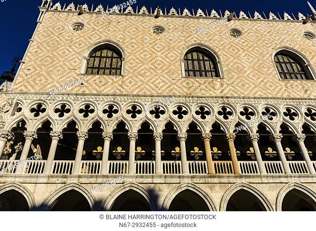 Doge's Palace (Palazzo Ducale), Piazza San Marco, Venice, Italy