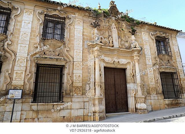 Cilla del Cabildo de la Catedral de Sevilla (18th century), Osuna. Sevilla province, Andalucia, Spain