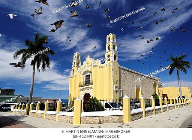 San Cristobal Church in Merida, Yucatan, Mexico, North America