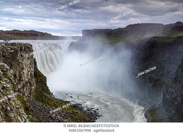 Dettifoss waterfall. Jokulsargljufur National Park. Iceland, Europe
