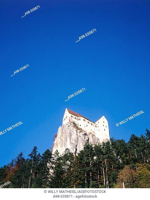 Prunn Castle, near Riedenburg. Altmühltal. Bavaria. Germany