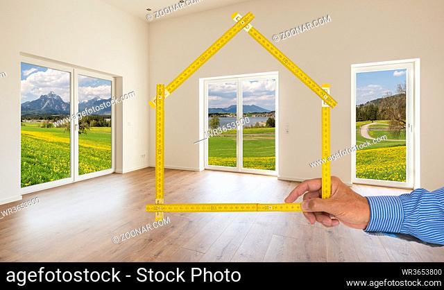 Neubau Wohnung mit freiem Blick in die Natur
