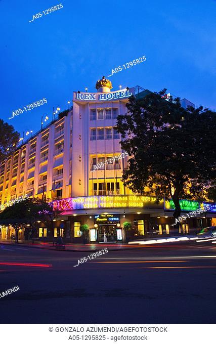 Rex Hotel. Ho Chi Minh City (formerly Saigon). South Vietnam