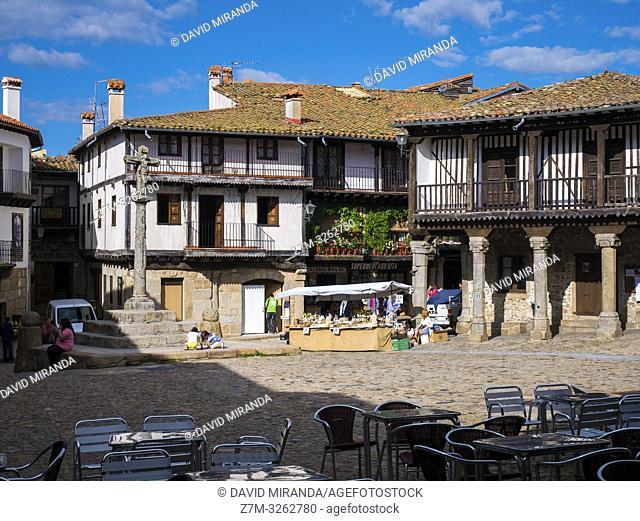 Plaza Mayor de La Alberca. Sierra de Francia. Salamanca. Castilla León. España