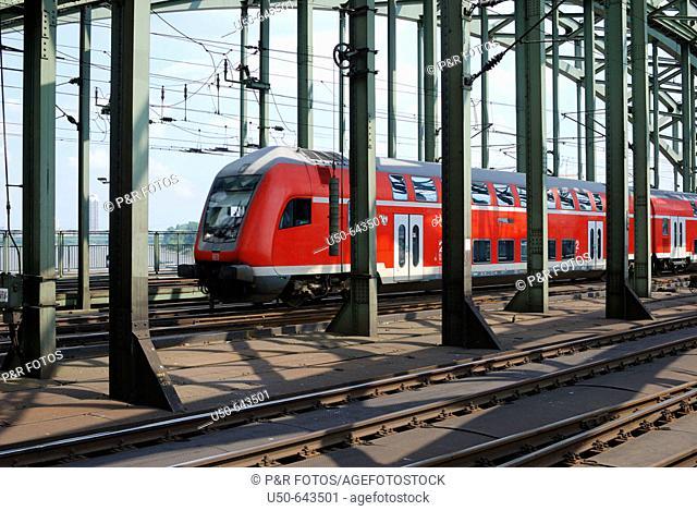 Regional train, Cologne, Germany