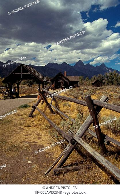 USA, Wyoming, Grand Teton National Park, Chapel of Transfiguration