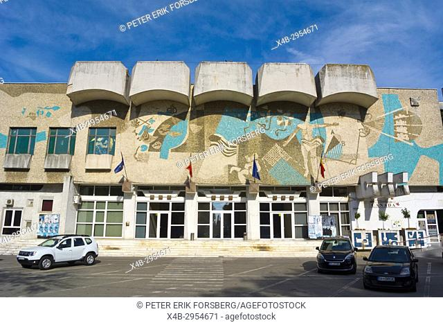 Casa de Cultura a Sindicatelor, Socialist era cultural centre, Parcul 1 Decembrie, Oradea, Bihor county, Romania