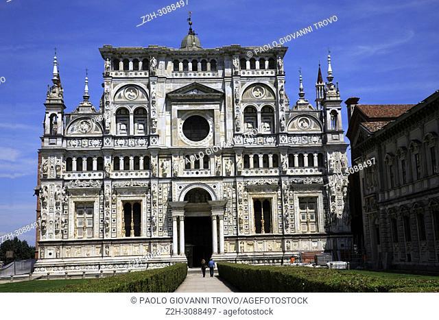 Certosa di Pavia, Pavia, Lombardy, Italy