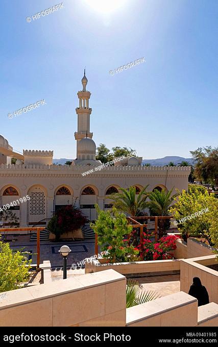 Jordan, central mosque, Aqaba