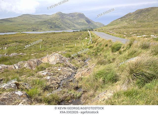 Open Road, Connemara National; Park; Ireland