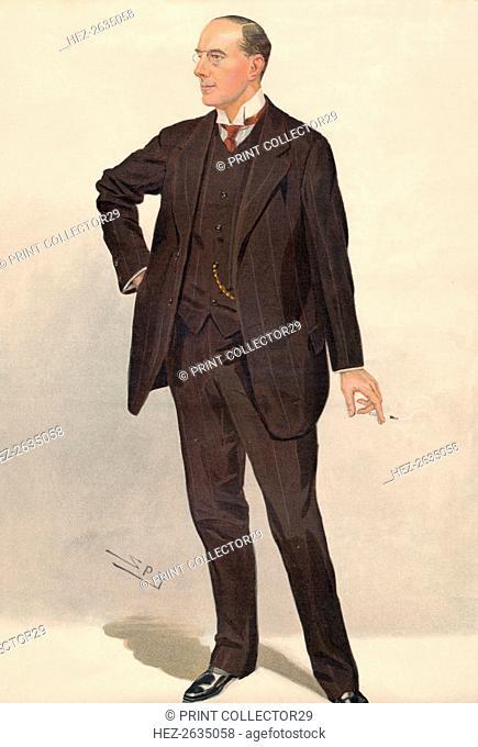 'Mr. Hugh Chisholm', 1911 Artist: Sir Leslie Matthew Ward
