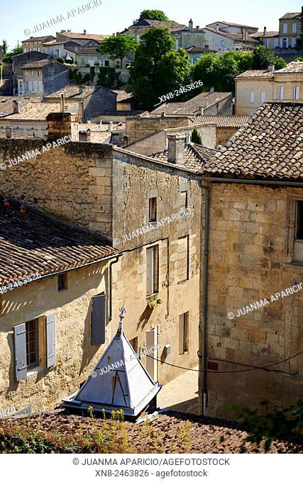 Saint Emilion, Gironde, Aquitaine, France, Europe