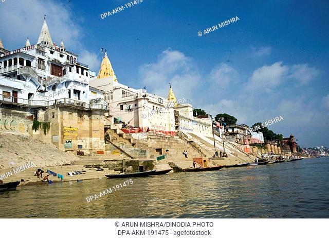 Jain ghat varanasi uttar pradesh India Asia