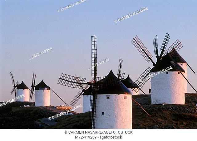 Windmill. Consuegra. Toledo province. Spain