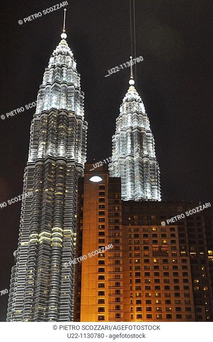 Kuala Lumpur (Malaysia): the Petronas Twin Towers