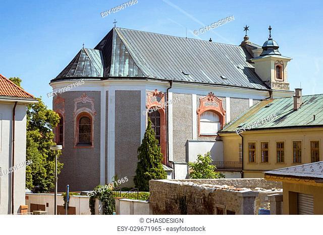 The church of st. John of Nepomuk (Kostel svateho Jana Nepomuckeho). Kutna Hora, Czech Republic
