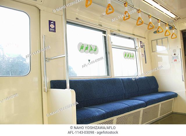 Empty Train Interior