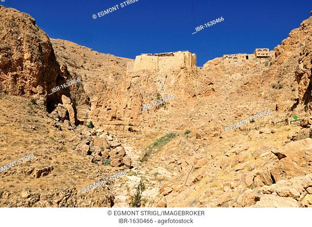 Deir Mar Musa al-Habashi, Monastery of Saint Moses the Abyssinian, Syria, Middle East, West Asia