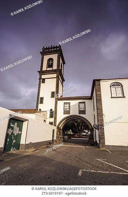 City Hall, Ribeira Grande, Sao Miguel Island, Azores, Portugal